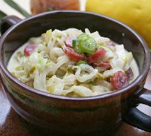 Zupa z cykorii z kiełbasą chorizo - rozgrzewająca i pożywna