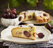 Ciasto z winogronami, czyli włoska Schiacciata con l'uva