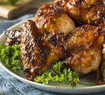 Grillowany kurczak w miodowej glazurze