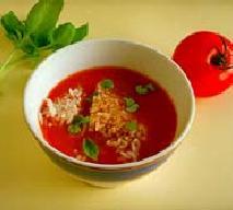 Krem pomidorowy z parmezanem