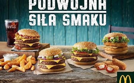 Podwójne burgery w McDonald's - na czym polega najnowsza promocja?