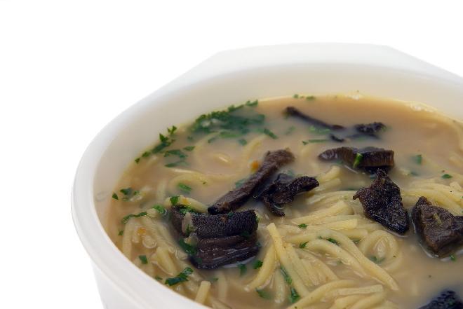 Zupa grzybowa z grzybów suszonych