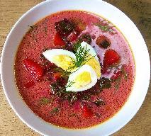 Botwinka z ziemniakami i jajkiem: pyszna zupa bez mięsa