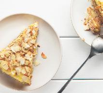 Tarta z migdałami i białą czekoladą: przepis