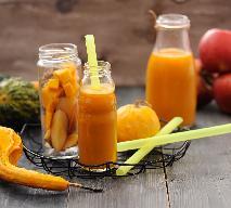 Jesienne smoothie: napój z dyni, jabłek i marchwi na zdrowie