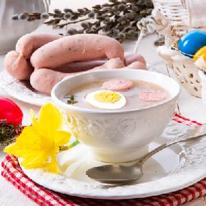 Wielkanocny barszcz chrzanowy: sycąca zupa wzmacniająca odporność