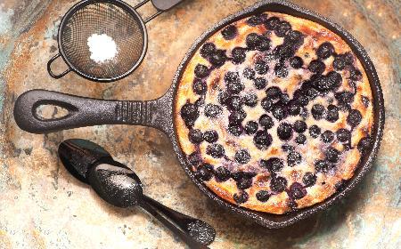 Ciasto owocowe z patelni: sprawdzony przepis